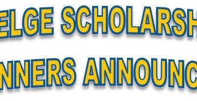 2018 Welge Scholarships Awarded