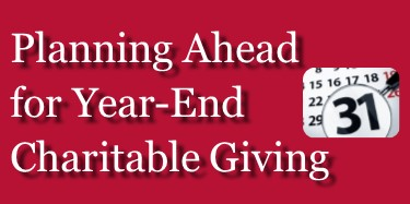 Year-End Giving Opportunities